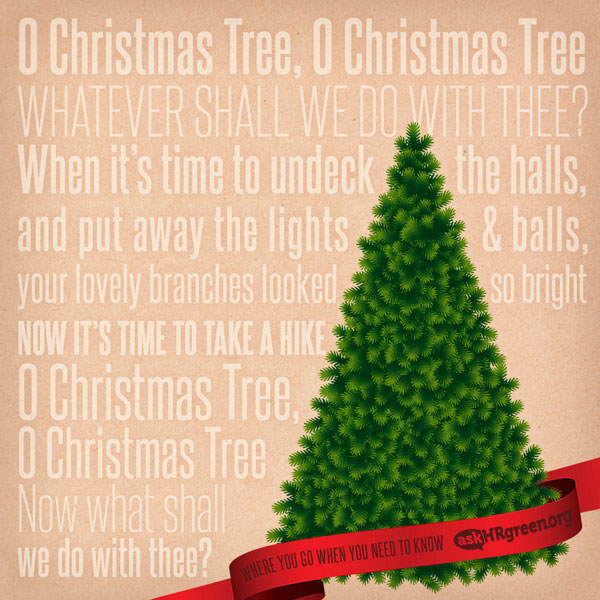 Christmas Tree Recycling Gloucester : Christmas tree recycling in hampton roads ? askhrgreen