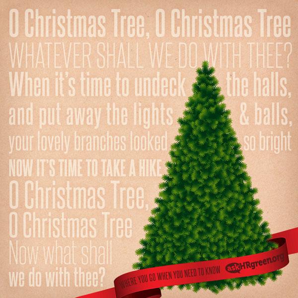 Christmas Tree Disposal Bags