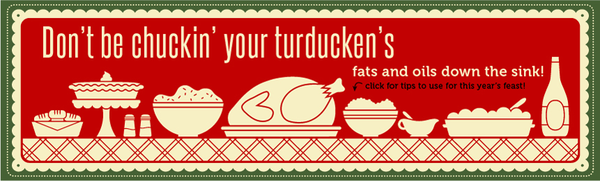 Cooking and cleanup tips for a clog-free holiday season!