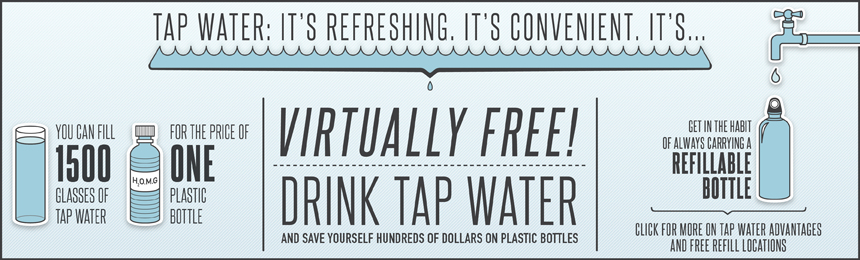 TAKE BACK THE TAP THIS DRINKING WATER WEEK