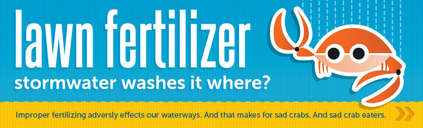Where does your lawn fertilizer go?