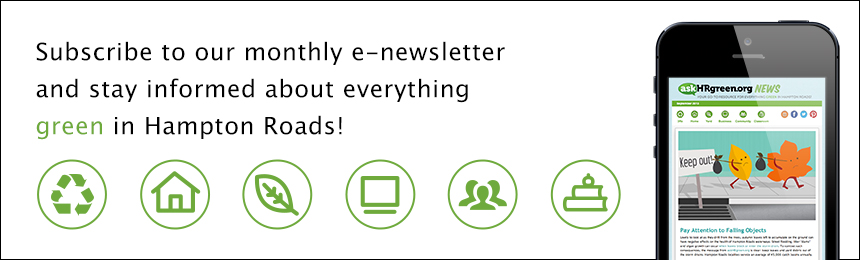 askHRgreen eNewsletter signup slide