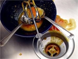 food down drain
