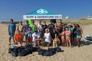 surfandadventure: Businesses are encouraged to hold a Virginia Waterways Cleanup. It's a great way to engage staff and customers and give back to communities.