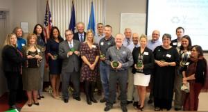 2016 Award winners group