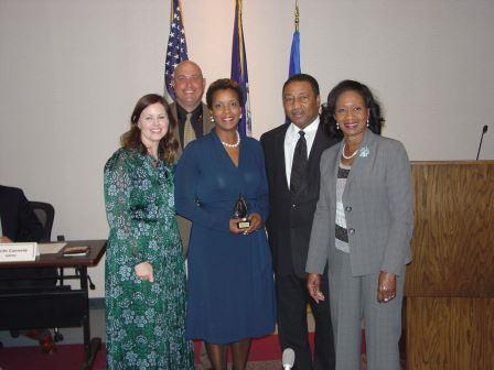 Ms. Wendy VanHosen, assistant principal at John Yeates Middle School Dr. Ella Ward, Chesapeake City Council Member and HRPDC Chair Mr. Michael Hipple, Chair of the James City County Board of Supervisors and HRPDC Vice Chair Mr. Lue R. Ward, Jr., Suffolk Council Member