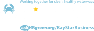 Bay Star Business Logo with the tagline working together for clean healthy waterways