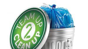 Team Up 2 Clean Up logo