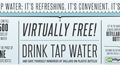Water Benefits Digital Advertisement Thumbnail