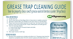 Grease Trap Cleaning Guide Thumbnail