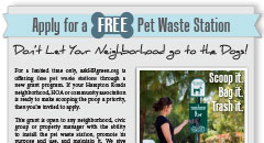 Pet Waste Station Poster Thumbnail