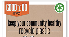 Recycle Plastics Poster Thumbnail