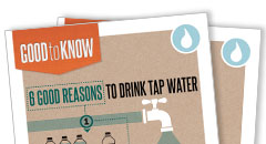 Drink Tap Water Rack Card Thumbnail